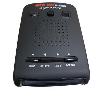 Использование кнопки MENU на антирадаре SHO-ME
