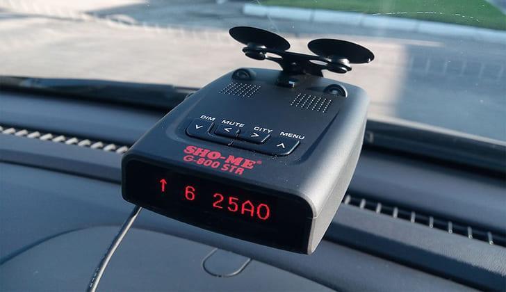 Sho-Me G-800STR в машине