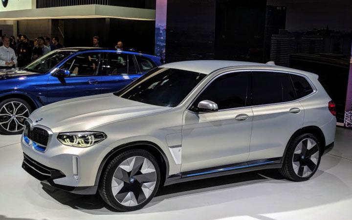 BMW iX3 2020-2021