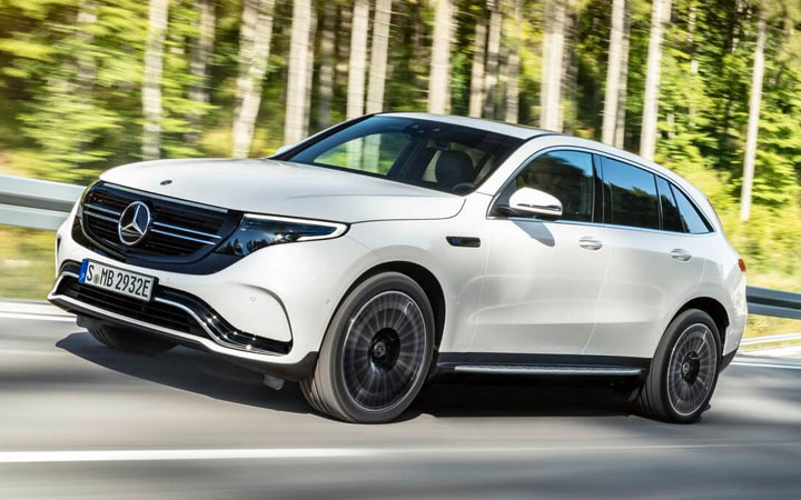 Mercedes-Benz EQC 2020-2021