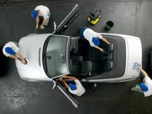 подготовка салона автомобиля к чистке