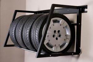 вертикальное хранение шин