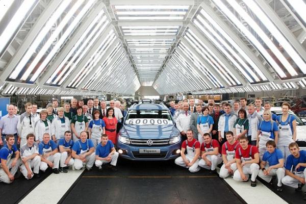 Volkswagen расширяет свое присутствие в России