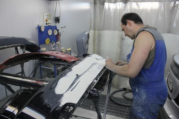 Как покрасить бампер машины