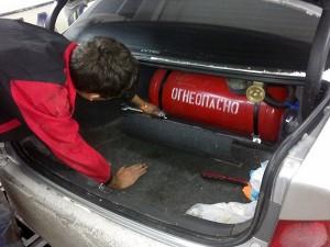 Преимущества автомобиля на газу