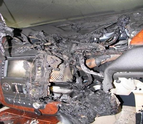 Причины возгорания автомобиля