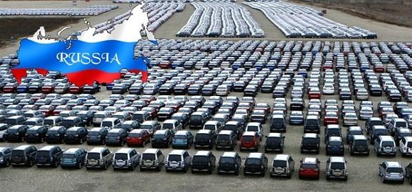 Рынок новых автомобилей России «просел» на 30%