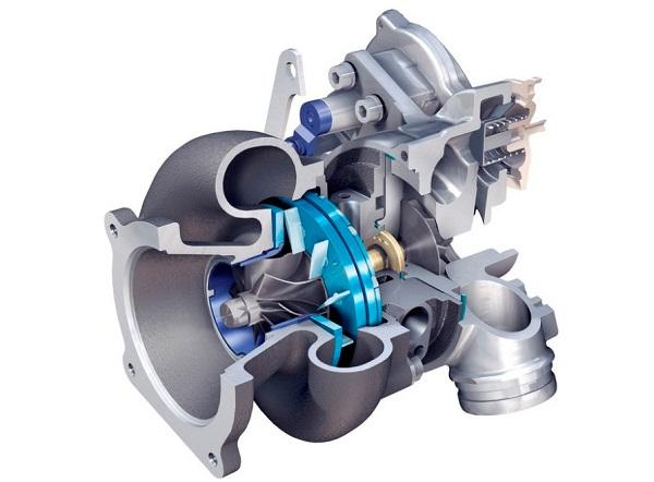 Как работает турбина на бензиновом двигателе?