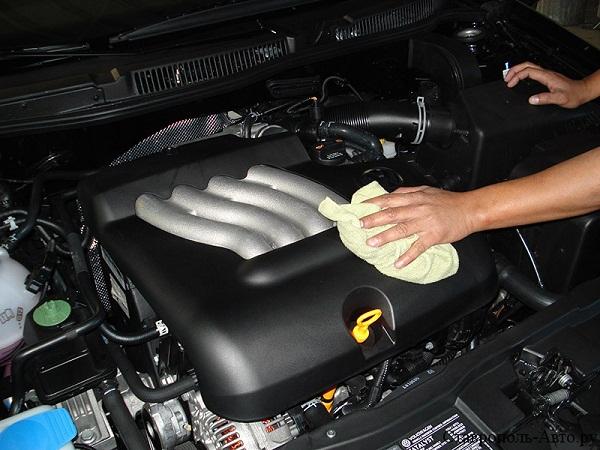 Что делать если не заводиться после мойки двигателя машина