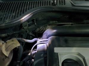 Почему турбина гонит масло в интеркулер?