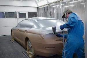 Нанесение жидкой резины на кузов автомобиля