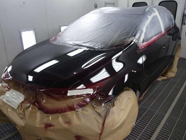 Подготовка кузова автомобиля