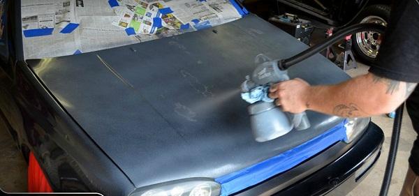 Покрытие автомобиля жидкой резиной