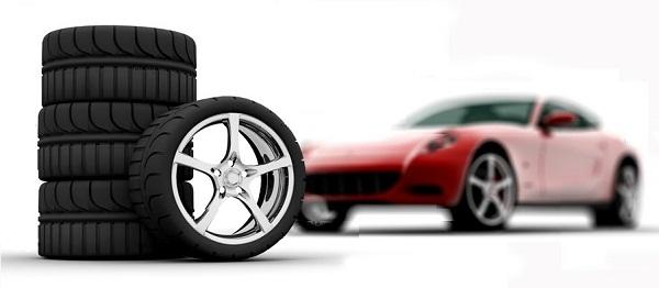 замена шин автомобиля летом