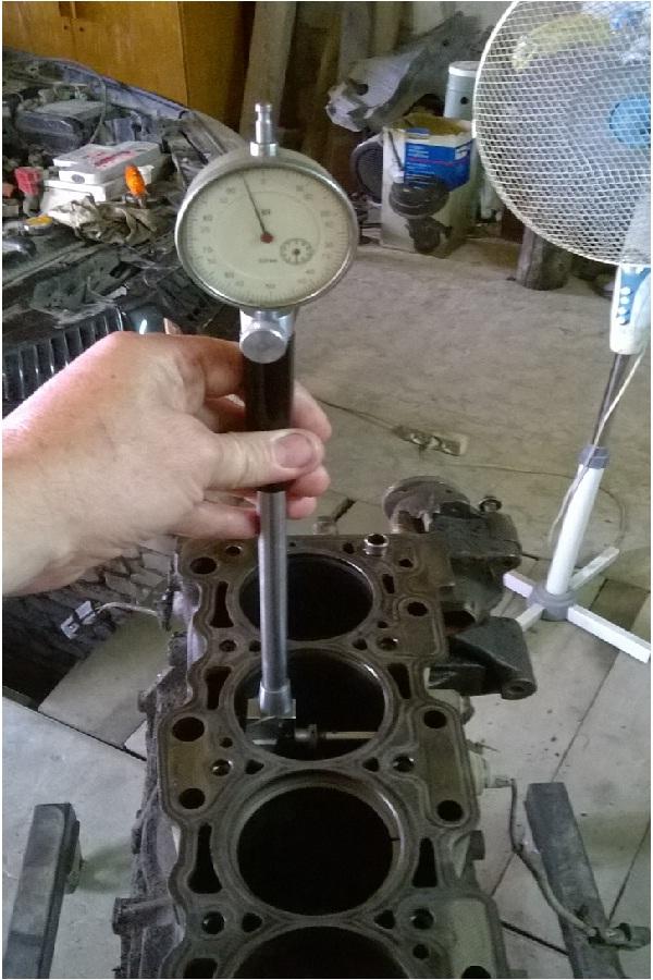 Дефектовка блока цилиндров