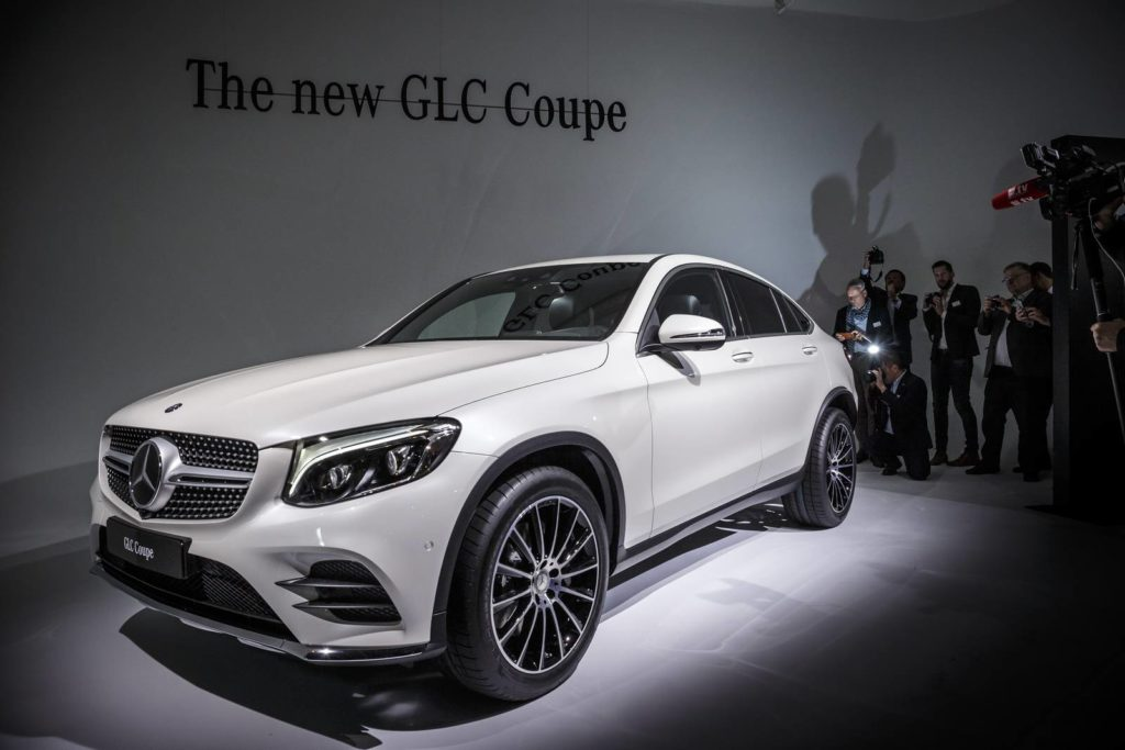 Mercedes Benz GLC дизайн