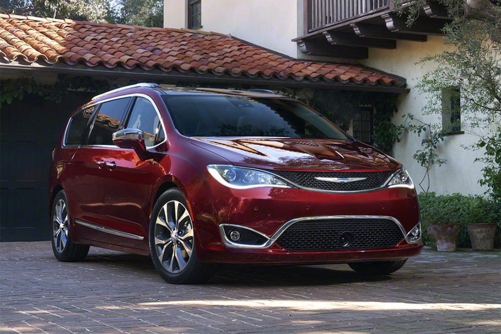 Новый Chrysler Pacifica