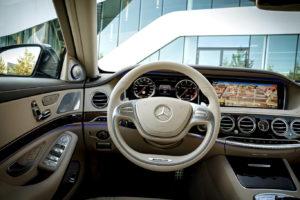 Mercedes Benz S класс салон