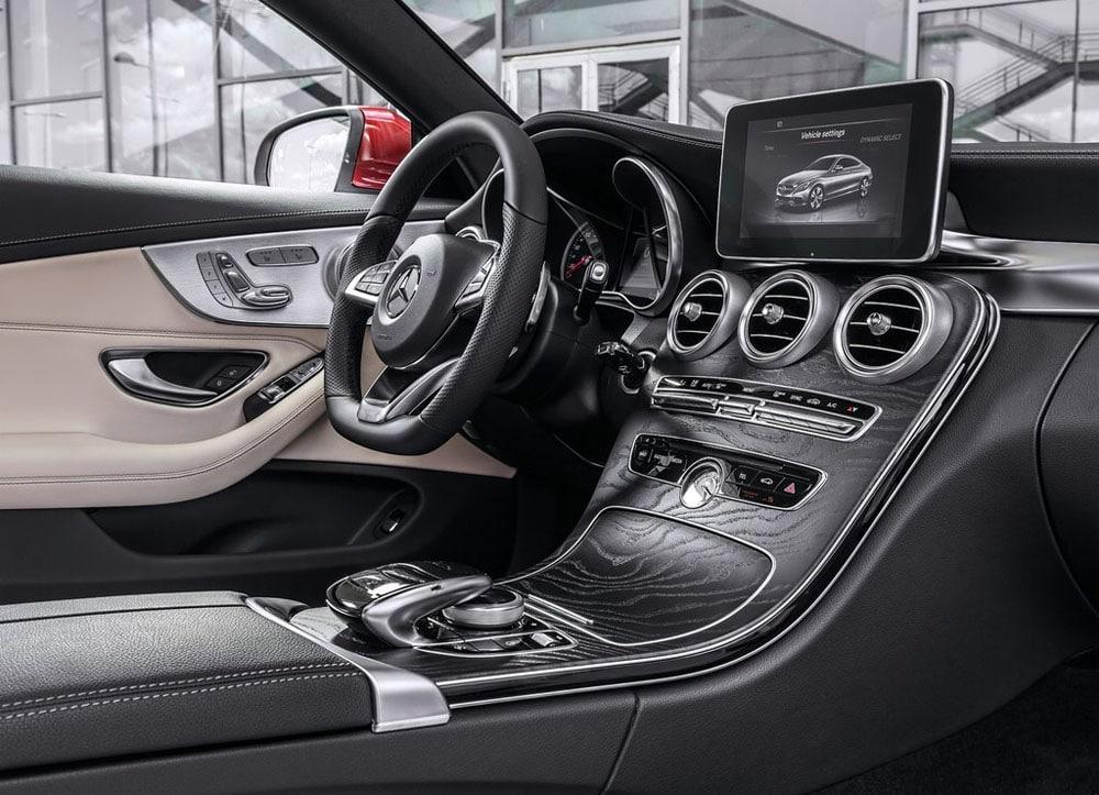Mercedes Benz в c class w205 интерьер