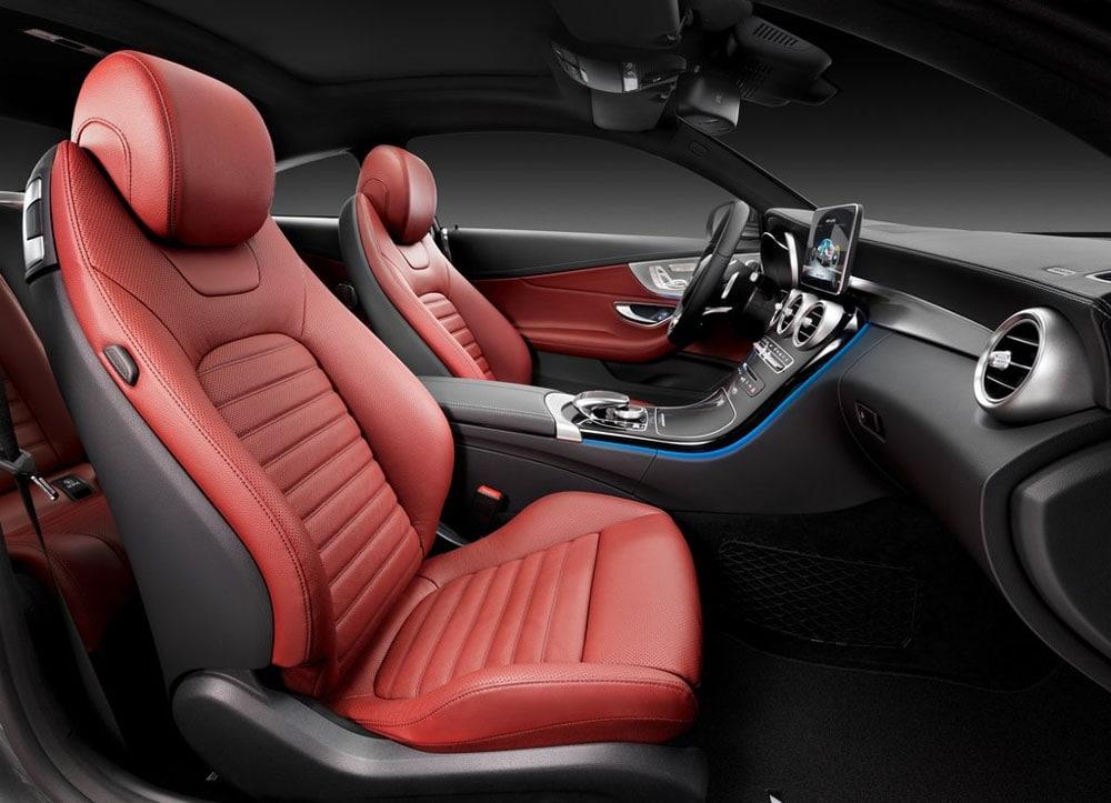 Mercedes Benz в c class w205 салон