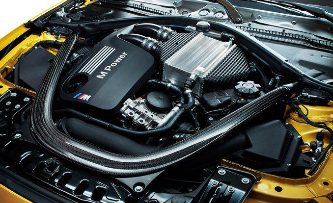 BMW m4 двигатель