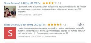 Skoda Octavia a7 отзывы