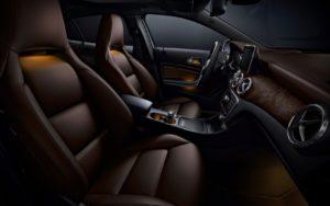 Mercedes GLA Class внутри