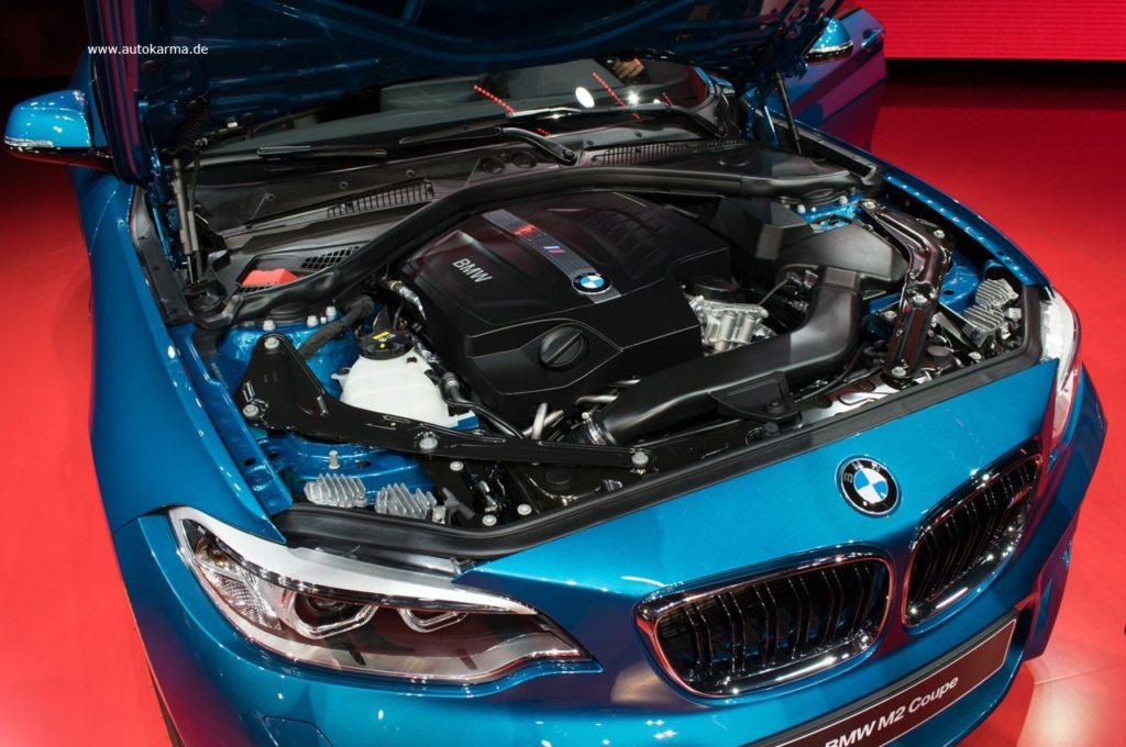 bmw m2 двигатель