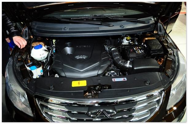 chery arrizo 7 двигатель
