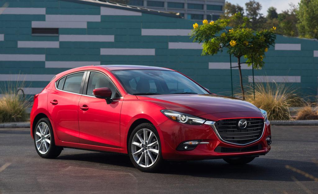 2017 Mazda 3 хэтчбек