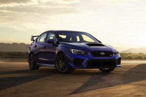 Subaru WRX STI дизайн