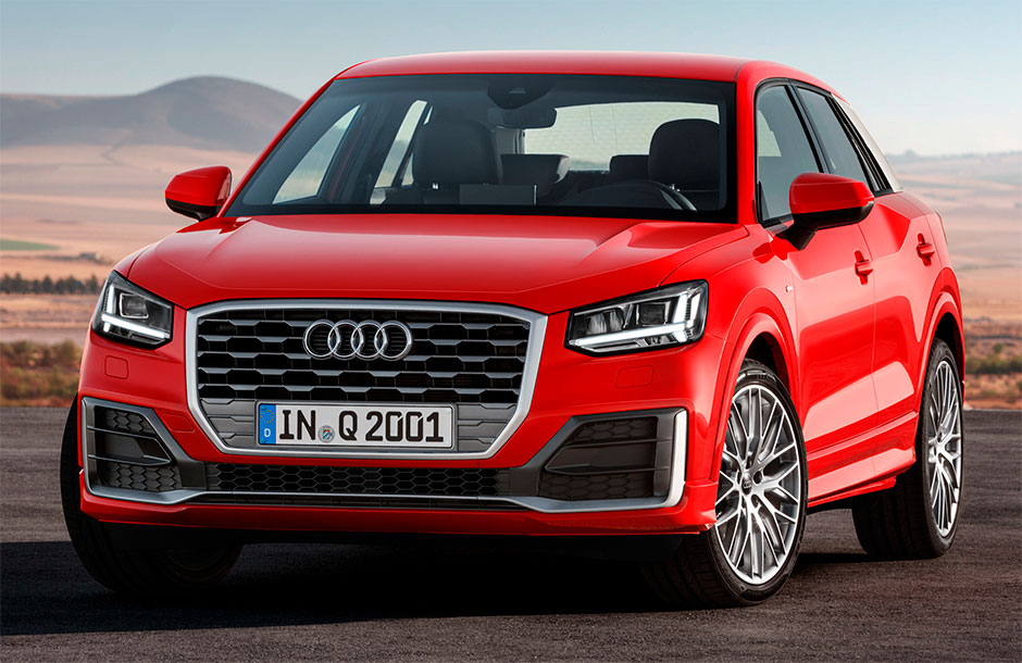 Audi Q2 2017 экстерьер