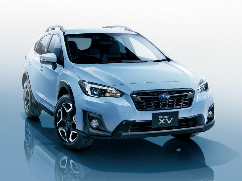 Subaru Impreza XV 2017 дизайн
