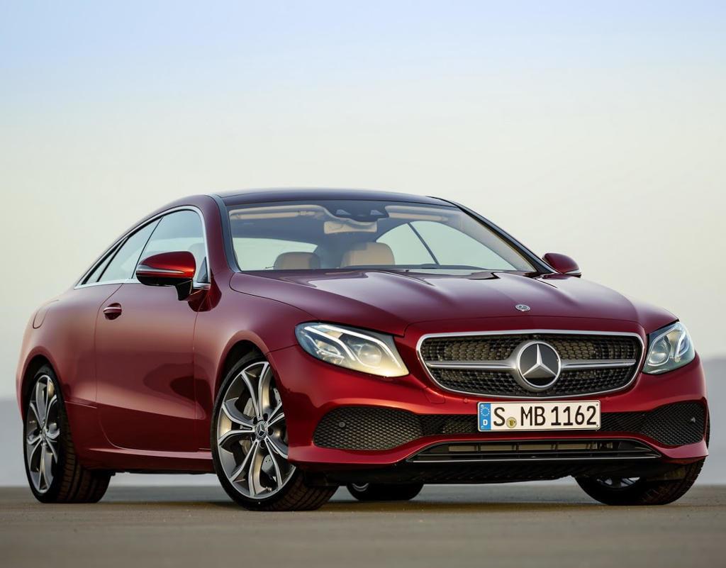 Мерседес Е Класс в купе 2017 внешний вид