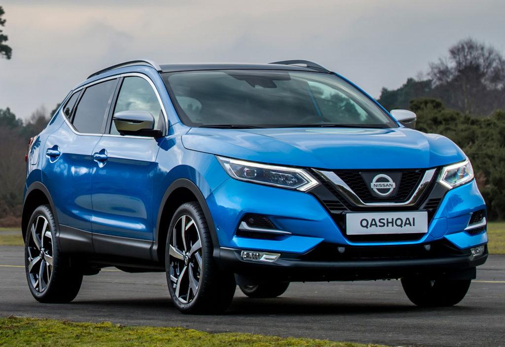 Nissan Qashqai внешний вид