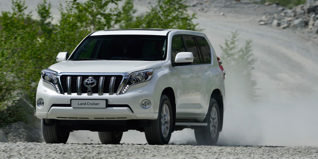 Toyota Land Cruiser Prado экстерьер