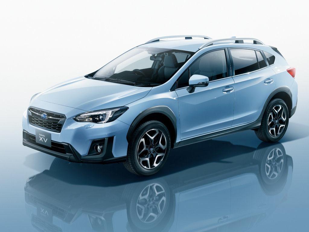 Subaru Impreza XV силуэт