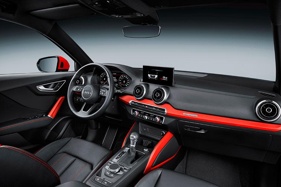 Audi Q2 2017 интерьер
