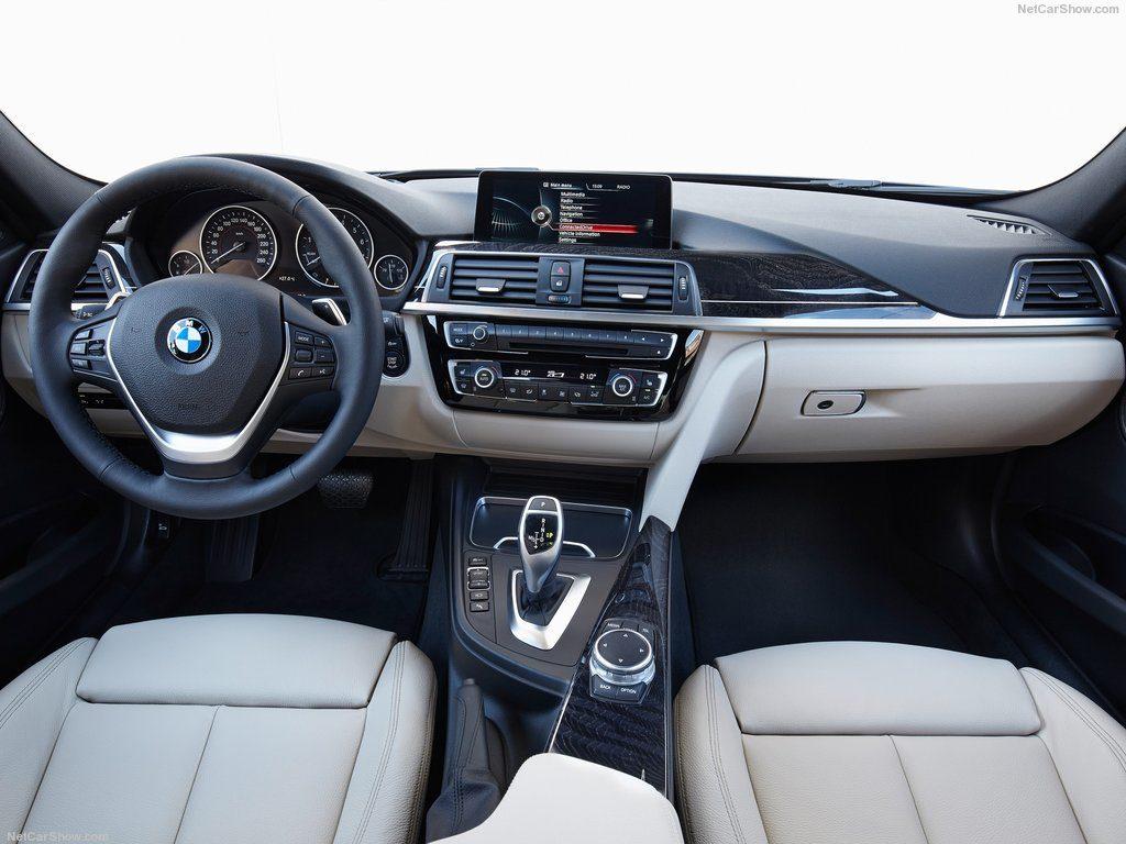 BMW 3 серии интерьер