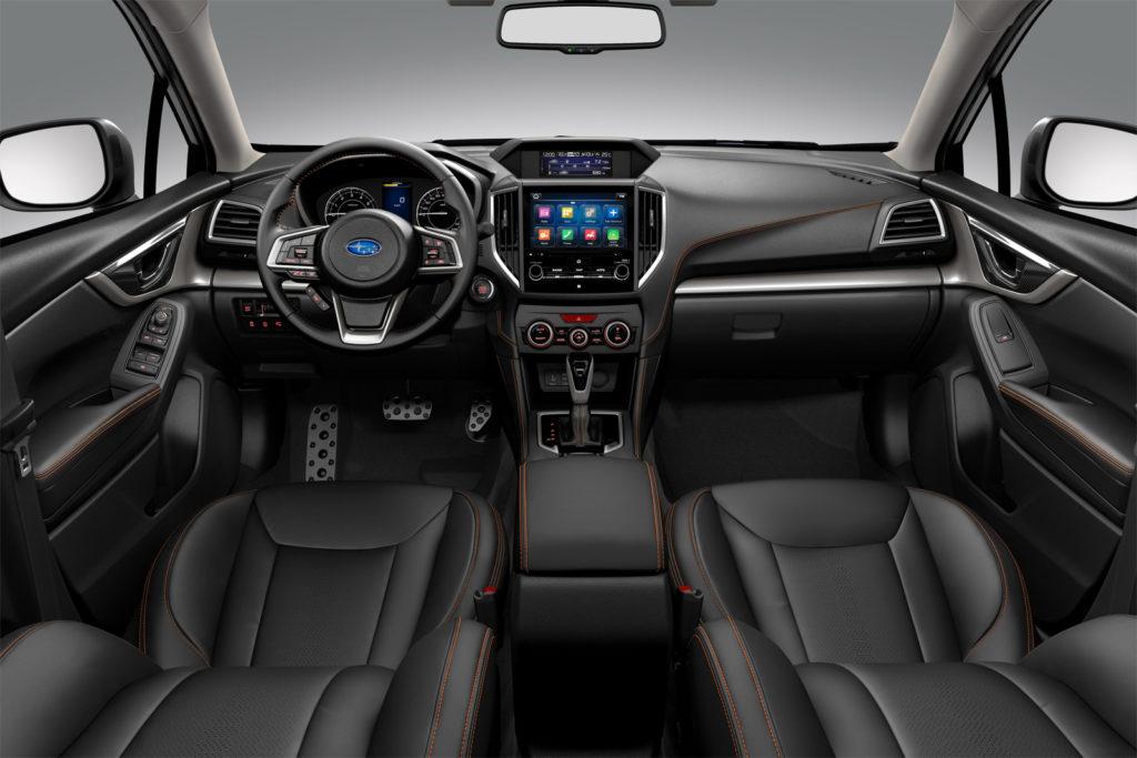 Subaru XV 2017 салон