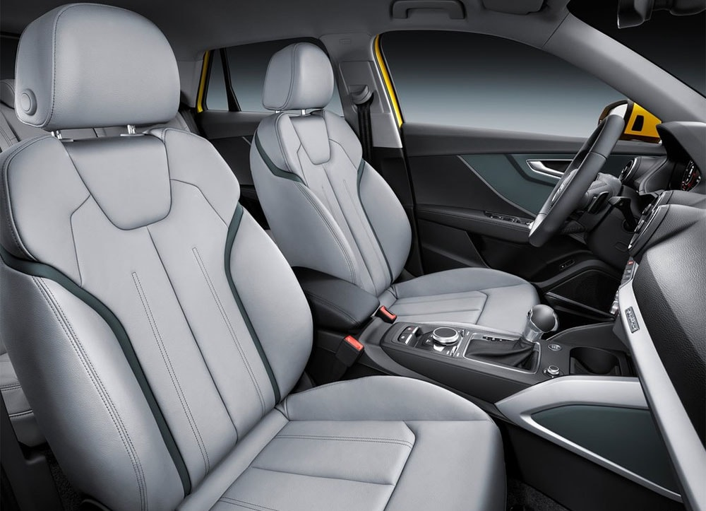 Audi Q2 2017 салон