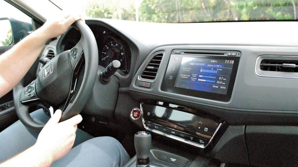 Honda HR V интерьер