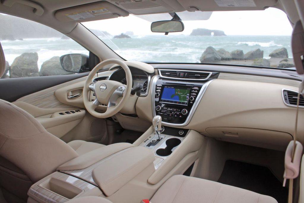 Nissan Murano внутри