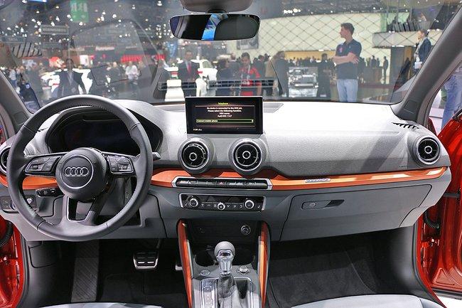 Audi Q2 2017 управление