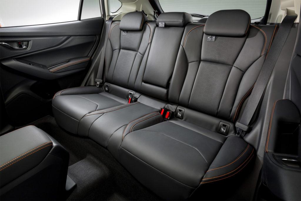 Subaru XV 2017 сиденья