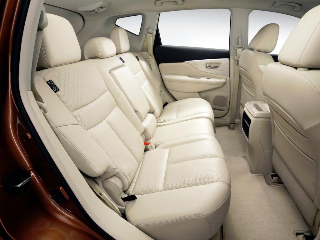 Nissan Murano сидения