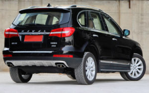 Great Wall Haval H8 вид сзади