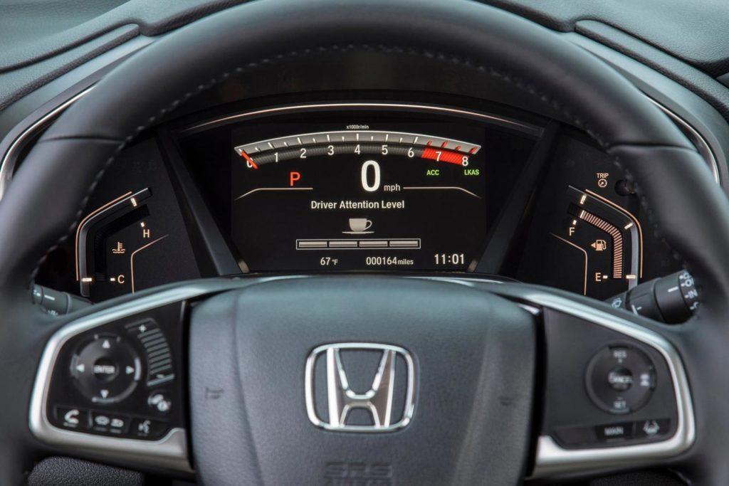 Хонда СРВ интерьер