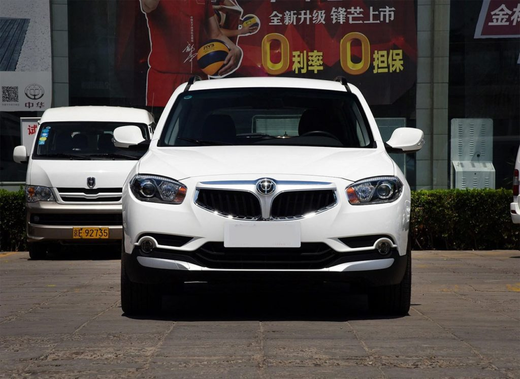 Brilliance V5 экстерьер