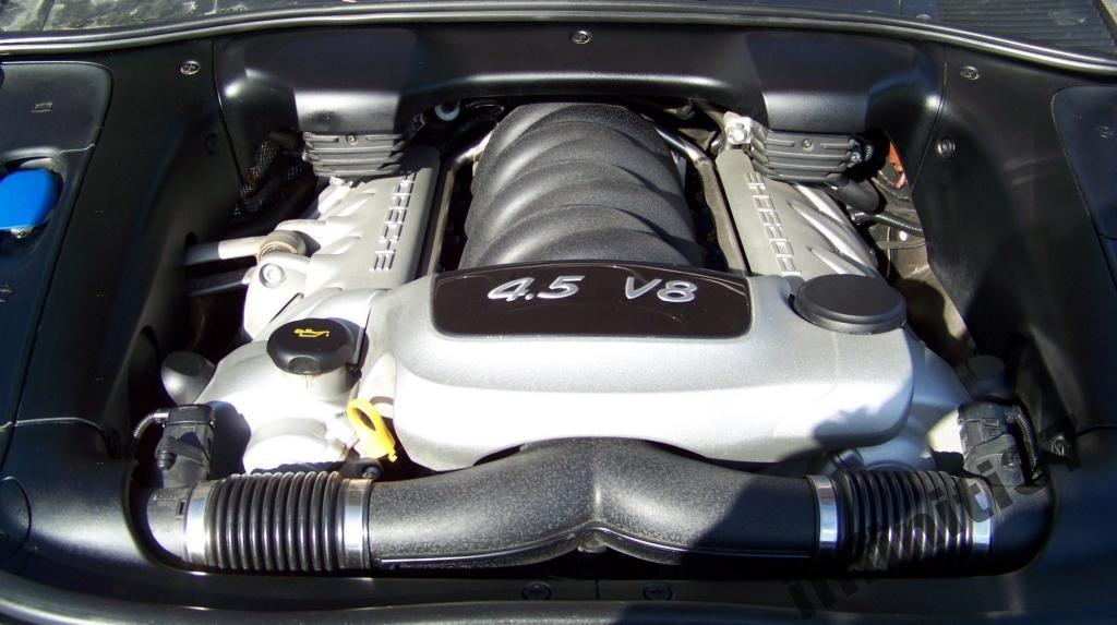 двигатель кайена